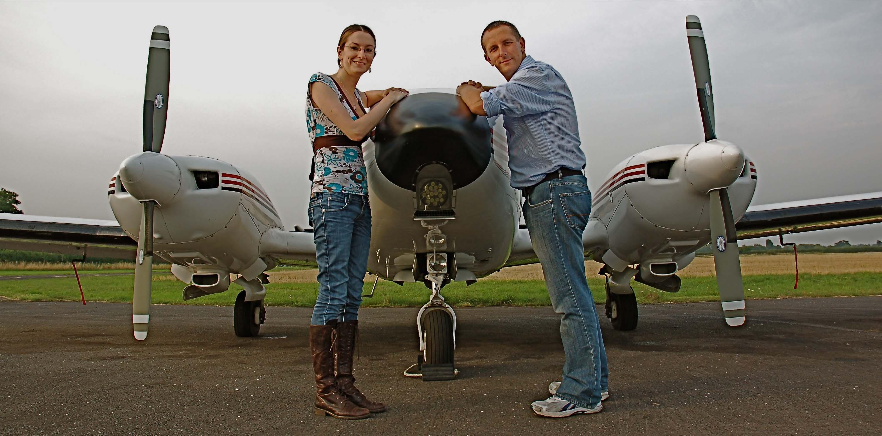 Rachel and Lee