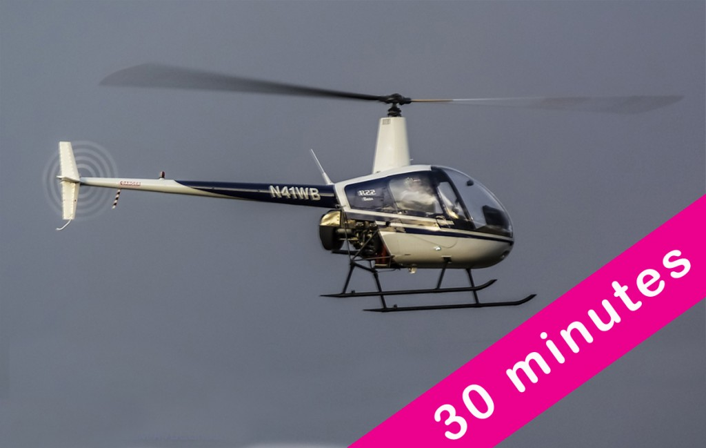 30 Minute Helicopter Flight