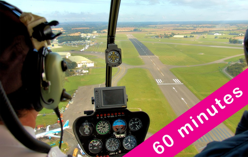 60 Minute Helicopter Flight