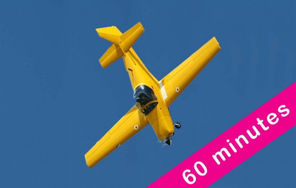60 Minute Aerobatic Flight