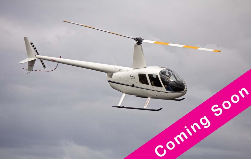 Helicopter Taster Flight - Coming Soon