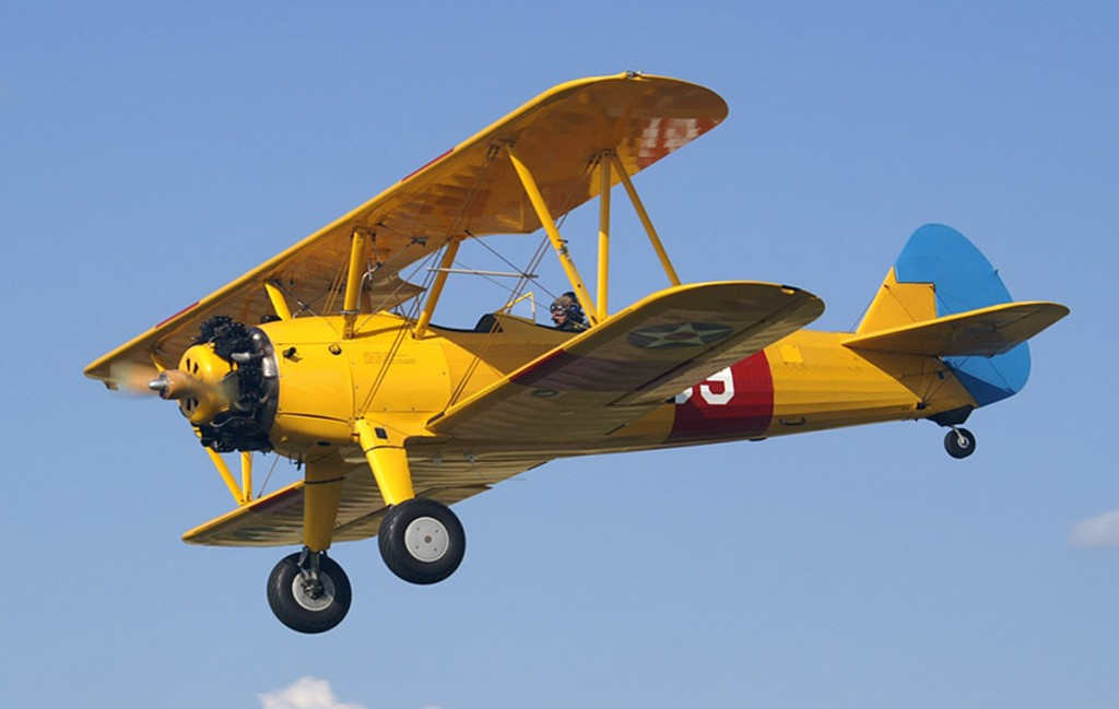 Boeing Stearman flights