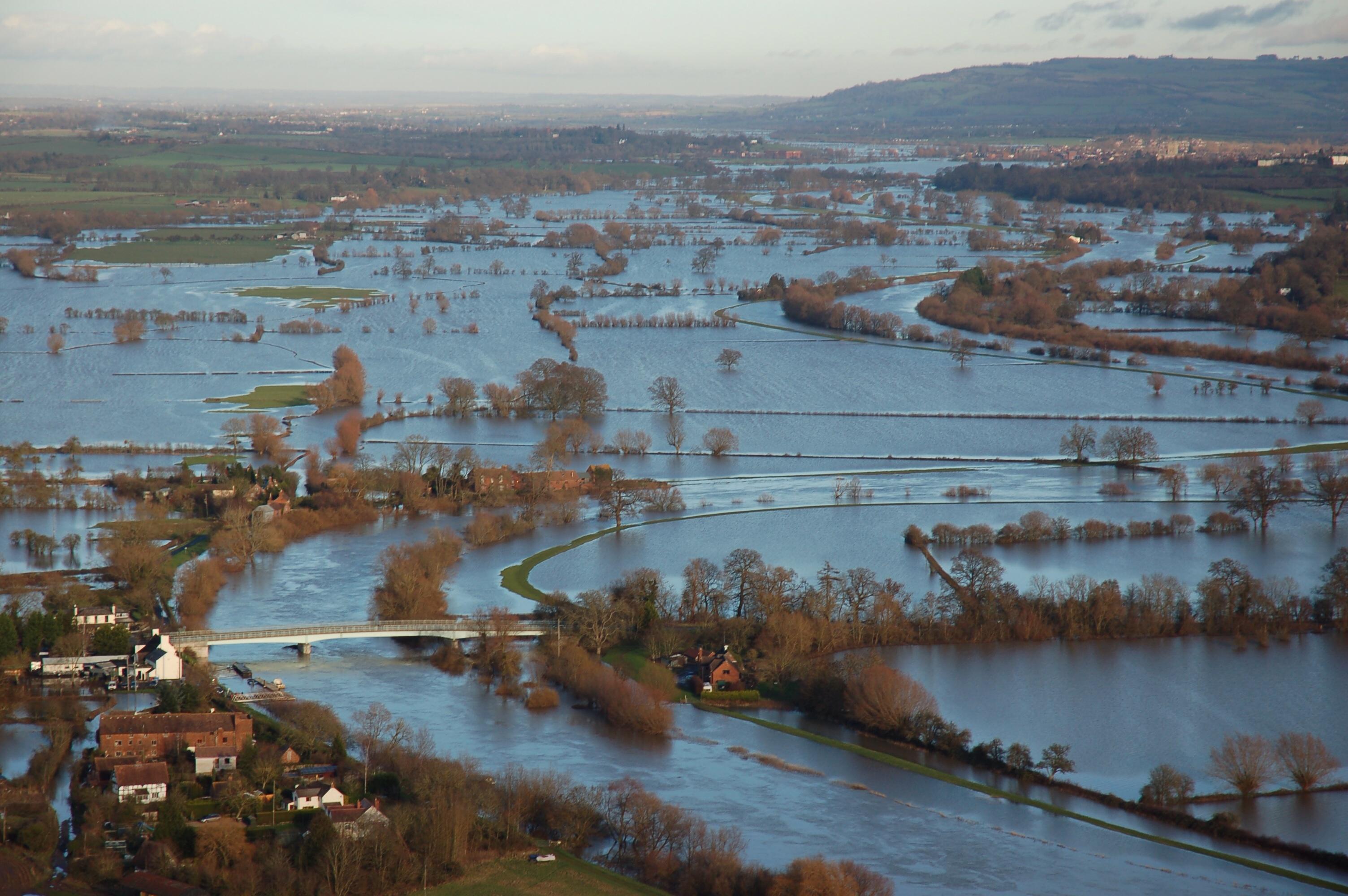 UK Floods - Gloucestershire