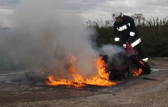 Airfield Fire Training